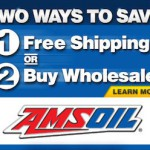 Two Ways To Save On Amsoil - The First in Synthetics